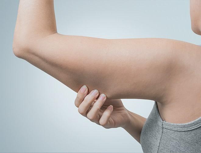 corps bras femme