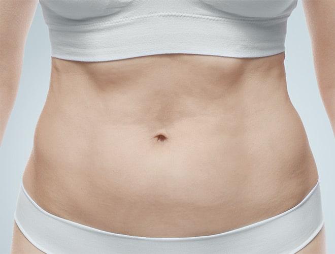 corps ventre femme