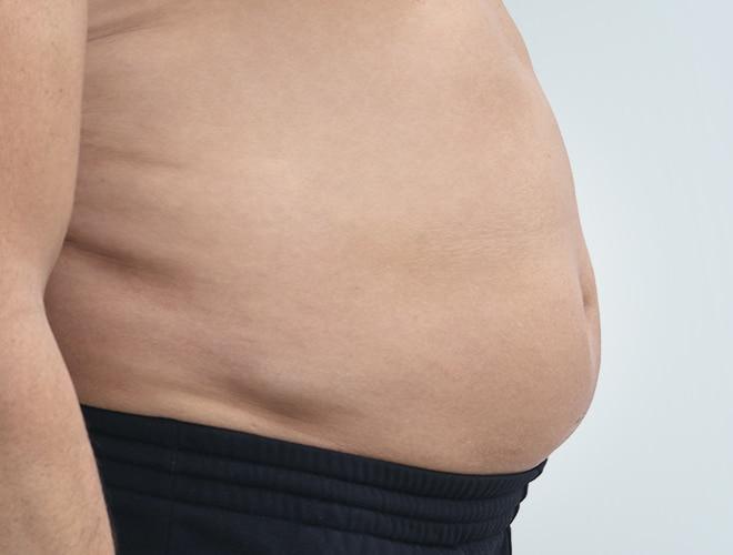 corps homme ventre